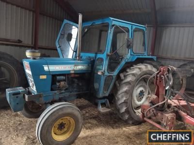 FORD 7000 4cylinder diesel TRACTOR A good ex-farm example fitted with Dual Power. A recent Danish import with no registration documentation