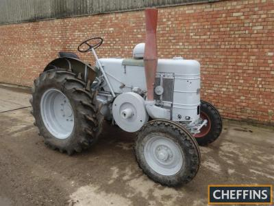 FIELD MARSHALL S.III single cylinder diesel TRACTOR Serial No. 14242 Fitted with new tyres and tinwork. An unfinished restoration project