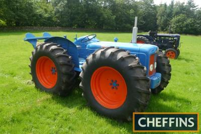 1964 COUNTY Super-4 4cylinder diesel TRACTOR Reg. No. CHN 347B Serial No. 12714 Fitted with a Cooke rear winch, cable and land anchor on 16.9-30 Firestone wheels and tyres. Ex-Tommy Lowther with V5 available