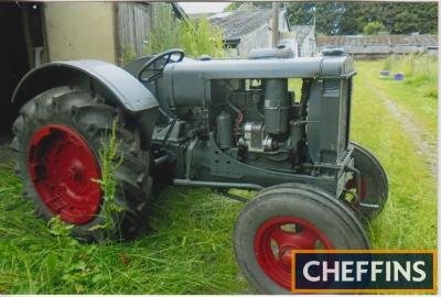 1934 INTERNATIONAL McCORMICK W12 4cylinder petrol/tvo TRACTOR Reg. No. 296 UXB Serial No. WS811 This tractor was purchased new by a Mr Pickering, Frostlee Farm, Durham at the Royal Highland show in 1934. It was then acquired by a Mr Roland Smith, Bishop A