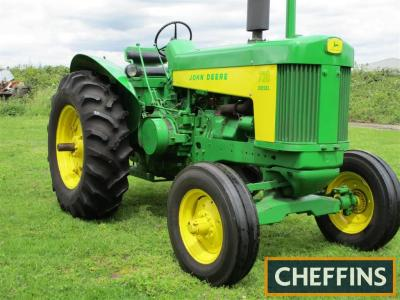 c1959 JOHN DEERE 730 2cylinder diesel TRACTOR Serial No. 7304782 The vendor reports this 730 was purchased a few years ago and had been subject to a front to back restoration. The tractor starts well, is fast on the road, always garage stored, sale due to