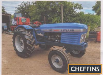 1979 LEYLAND 262 4cylinder diesel TRACTOR Reg. No. FWY 951T Serial No. 242764 Fitted with Synchro, turbo, reconditioned engine, new clutch and brakes. Painted to show condition with V5 available.
