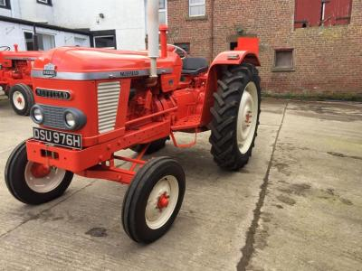 1969 NUFFIELD 4/65 4cylinder diesel TRACTOR Reg. No. DSU 976H Serial No. 65M300021125775 Fitted with rear linkage and swinging drawbar. Stated by the vendor to be fully restored with V5 available.