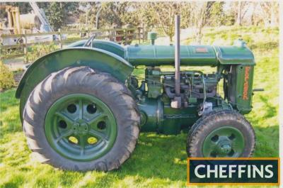 FORDSON Standard N 4cylinder petrol/paraffin TRACTOR A `hop garden` conversion and stated to be an older restoration