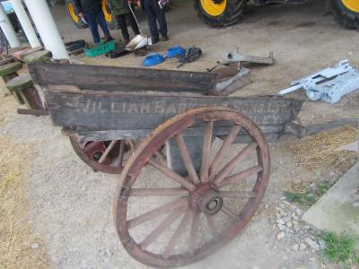 Barkers of Otley hand cart, for restoration