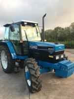 1992 FORD 6640 Powerstar SLE 4cylinder diesel TRACTORReg. No. K664 HCLSerial No. BD28500Launched some 20 years ago the 40 series is thought by many to be the last true Ford to carry the famous oval emblem on the bonnet, before the merger between Ford and