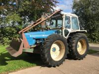 1980 COUNTY 1174 6cylinder diesel TRACTORReg. No. PSC 690VSerial No. 39140Fitted with a rear winch and blade.  A very original looking example that has come straight from work.  V5 available.