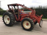 1975 COUNTY 4600-4 4cylinder diesel TRACTORReg. No. KRS 79NSerial No. 36545Fitted with a rear winch and blade.  A very original looking example that has come straight from work.  V5 available.