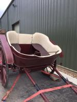 Horsedrawn governess cart