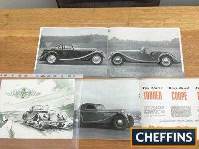 Morgan car brochures 1950s Tourer, Coupe, Plus Four (3)