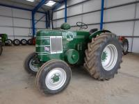 1950 FIELD MARSHALL Series III single cylinder diesel TRACTOR  Serial No. 14502  A well presented example fitted with a PTO, side belt pulley and drawbar on 18.4-30 rear and 7.50-18 front wheels and tyres